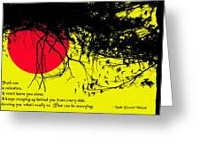 Truth Can Be Relentless Greeting Card by Mike Flynn
