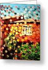 Tucsoncenter Ss2blue Greeting Card by Irmari Nacht