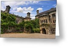 Tudor Castle Greeting Card by Ian Mitchell