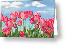 Tulipalooza Greeting Card by Brian Graybill