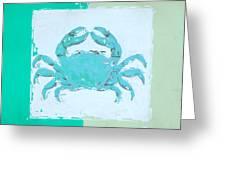 Turquoise Seashells Xv Greeting Card by Lourry Legarde