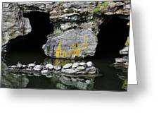 Turtle Caves Greeting Card by JC Findley