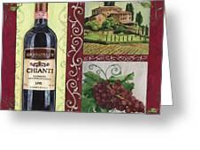 Tuscan Collage 1 Greeting Card by Debbie DeWitt