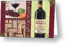 Tuscan Collage 2 Greeting Card by Debbie DeWitt