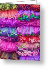 Tutus By The Dozen Greeting Card by Kathleen K Parker