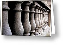 Twelve Pillars Greeting Card by Glenn McCarthy Art and Photography
