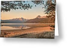 Twilight At Redfish Lake  Greeting Card by Robert Bales