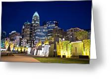 Twilight In Charlotte Greeting Card by Serge Skiba