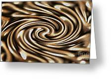 Twisted Chains Greeting Card by Crystal Harman