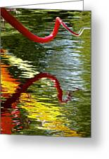 Twisted Ripples Greeting Card by Charlie Brock