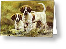 Two Of A Kind Greeting Card by Bob Hallmark