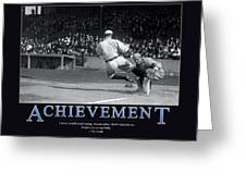 Ty Cobb Achievement  Greeting Card by Retro Images Archive