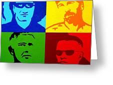 U2 Greeting Card by John  Nolan