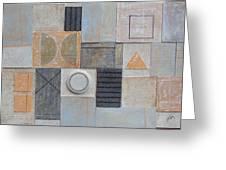 Uctio B. 2002 Greeting Card by Peter-hugo Mcclure
