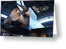 Udvar-hazy Center - Smithsonian National Air And Space Museum Annex - 121272 Greeting Card by DC Photographer