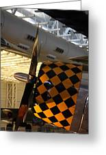 Udvar-hazy Center - Smithsonian National Air And Space Museum Annex - 121289 Greeting Card by DC Photographer