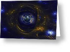 Ufo Observation Greeting Card by Klara Acel
