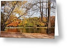 Ujazdowski Park In Warsaw Greeting Card by Artur Bogacki
