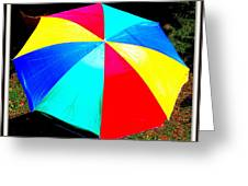 Umbrella-2 Greeting Card by Anand Swaroop Manchiraju