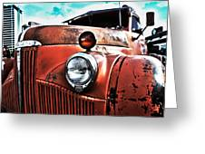 Uncle Mater Greeting Card by Justin  Curry