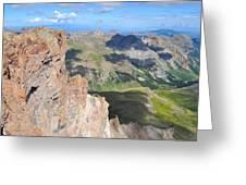 Uncompahgre Peak Summit Greeting Card by Aaron Spong
