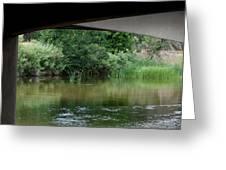 Under The Bridge Greeting Card by Ernie Echols
