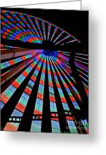 Under The Giant Wheel Greeting Card by Mark Miller
