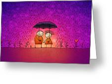 Under the Rain Greeting Card by Gianfranco Weiss