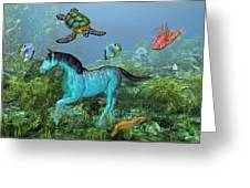 Under The Sea II Greeting Card by Betsy C  Knapp