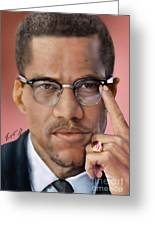 Under The X Factor 2 Greeting Card by Reggie Duffie