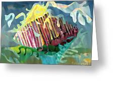 Undersea Still Life Greeting Card by Sarah Loft