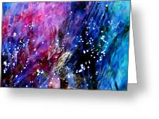 Underwater Galaxy Greeting Card by Terril Heilman