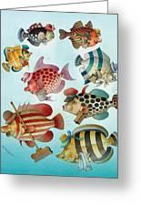Underwater Story 01 Greeting Card by Kestutis Kasparavicius