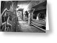 Underworld - The Krog Street Tunnel Greeting Card by Mark E Tisdale