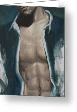 Undressing Greeting Card by Jindra Noewi