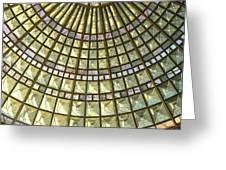 Union Station Skylight Greeting Card by Karyn Robinson