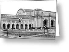 Union Station Washington Dc Greeting Card by Olivier Le Queinec