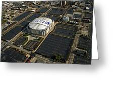 United Center Chicago Sports 10 Greeting Card by Thomas Woolworth