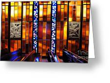 United States Air Force Academy Cadet Chapel Detail Greeting Card by Vivian Christopher