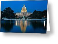 United States Capitol Greeting Card by Steve Gadomski