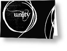 Unity  Me and You Greeting Card by Anahi DeCanio