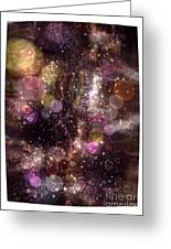 Universe Greeting Card by Victor Arriaga