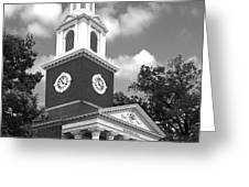 University of Kentucky Memorial Hall Greeting Card by University Icons