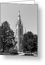 University Of Notre Dame Basilica Of The Sacred Heart Greeting Card by University Icons