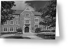 University Of Notre Dame Coleman- Morse Center Greeting Card by University Icons