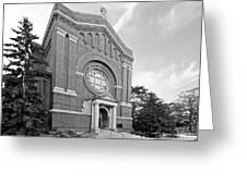 University Of St. Thomas Chapel Of St. Thomas Aquinas Greeting Card by University Icons