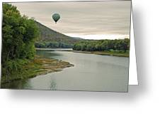 Untethered Greeting Card by Jim Cook