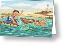 Until Next Summer Greeting Card by Phil Wilson