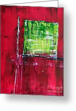 Untitled- Abstract Greeting Card by Ismeta Gruenwald