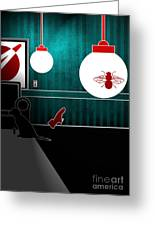 Untitled No.08 Greeting Card by Caio Caldas